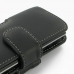 Sony Xperia Neo L Leather Holster Case (Black) protective carrying case by PDair