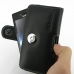 Sony Xperia Miro Leather Holster Case (Black) top quality leather case by PDair