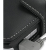 Toshiba Portege G810 Leather Flip Cover (Black) handmade leather case by PDair