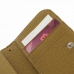 iPhone 5 5s Leather Wallet Case (Tan) top quality leather case by PDair