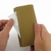 iPhone 5 5s Leather Wallet Case (Tan) custom degsined carrying case by PDair