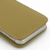 iPhone 5 5s Pouch Case with Belt Clip (Tan) protective carrying case by PDair