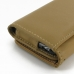 iPhone 6 6s Leather Wallet Case (Tan) protective carrying case by PDair