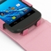 Acer Liquid E1 Leather Flip Top Case (Petal Pink) genuine leather case by PDair