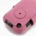 BlackBerry Curve 9220 Leather Flip Cover (Petal Pink) handmade leather case by PDair