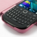 BlackBerry Curve 9220 Leather Flip Cover (Petal Pink) top quality leather case by PDair