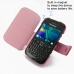 BlackBerry Curve 9220 Leather Flip Cover (Petal Pink) offers worldwide free shipping by PDair