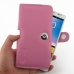 Huawei Ascend Mate Leather Holster Case (Petal Pink) top quality leather case by PDair