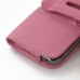 iPhone 5 5s Leather Holster Case (Petal Pink) protective carrying case by PDair
