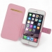 iPhone 6 6s Plus Leather Flip Cover (Petal Pink) top quality leather case by PDair