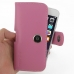 iPhone 6 6s Leather Holster Case (Petal Pink) top quality leather case by PDair