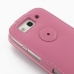 Samsung Galaxy S3 Leather Flip Top Case (Petal Pink) protective carrying case by PDair