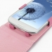 Samsung Galaxy S3 Leather Flip Top Case (Petal Pink) genuine leather case by PDair