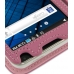 Samsung Galaxy S WiFi 5.0 Leather Flip Cover (Petal Pink) genuine leather case by PDair
