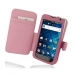 Samsung Galaxy S WiFi 5.0 Leather Flip Cover (Petal Pink) custom degsined carrying case by PDair