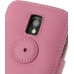 Samsung Galaxy S2 Epic Leather Flip Cover (Petal Pink) protective carrying case by PDair