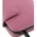 Samsung Galaxy S2 Epic Leather Flip Cover (Petal Pink) handmade leather case by PDair