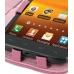 Samsung Galaxy S2 Epic Leather Flip Cover (Petal Pink) genuine leather case by PDair