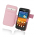 Samsung Galaxy S2 Epic Leather Flip Cover (Petal Pink) custom degsined carrying case by PDair