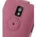 Samsung Galaxy S2 Epic Leather Flip Top Case (Petal Pink) protective carrying case by PDair
