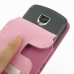 Samsung Droid Charge Leather Flip Case (Petal Pink) handmade leather case by PDair