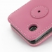 Samsung Galaxy Player 3.6 Leather Flip Cover (Petal Pink) genuine leather case by PDair
