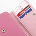 Samsung Galaxy S Advance Leather Wallet Case (Petal Pink) genuine leather case by PDair