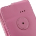 Samsung Captivate Galaxy S Leather Flip Case (Petal Pink) protective carrying case by PDair