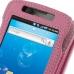 Samsung Captivate Galaxy S Leather Flip Case (Petal Pink) top quality leather case by PDair