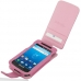 Samsung Captivate Galaxy S Leather Flip Case (Petal Pink) custom degsined carrying case by PDair