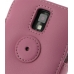 Samsung Galaxy S2 T989 Leather Flip Cover (Petal Pink) protective carrying case by PDair