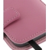 Samsung Galaxy S2 T989 Leather Flip Cover (Petal Pink) handmade leather case by PDair