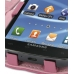 Samsung Galaxy S2 T989 Leather Flip Cover (Petal Pink) genuine leather case by PDair