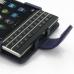 BlackBerry Passport Leather Flip Case (Purple) handmade leather case by PDair