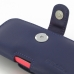iPhone 5c (in Slim Cover) Holster Case (Purple) genuine leather case by PDair