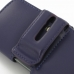 iPhone 5 5s Leather Holster Case (Purple) top quality leather case by PDair