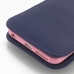 iPhone 6 6s Plus (in Slim Cover) Pouch Clip Case (Purple) handmade leather case by PDair