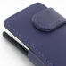 iPod nano 8th / nano 7th Leather Flip Cover (Purple) handmade leather case by PDair