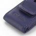 iPod nano 8th / nano 7th Pouch Case with Belt Clip (Purple) genuine leather case by PDair
