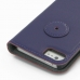 iPhone 5 5s Leather Flip Cover (Purple) protective carrying case by PDair