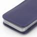 iPhone 5 5s Leather Sleeve Pouch Case (Purple) protective carrying case by PDair