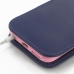 iPhone 6 6s (in Slim Cover) Pouch Case (Purple) handmade leather case by PDair