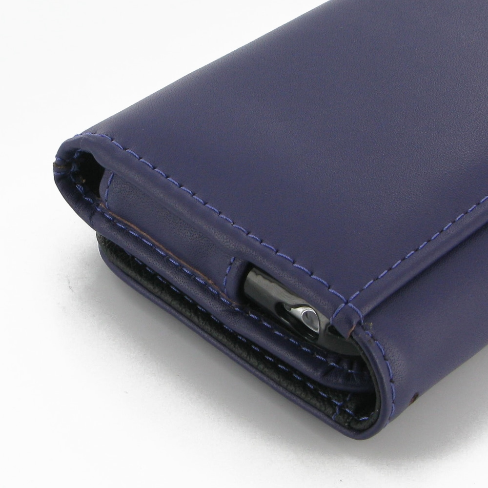 iphone 6 iphone 6s leather wallet case purple pdair. Black Bedroom Furniture Sets. Home Design Ideas
