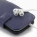 Samsung Galaxy S3 Leather Flip Cover (Purple) protective carrying case by PDair