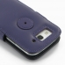 Samsung Galaxy S3 Leather Flip Cover (Purple) handmade leather case by PDair
