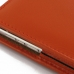 BlackBerry Passport Pouch Leather Sleeve Pouch Case (Orange) top quality leather case by PDair