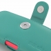 iPhone 5c (in Slim Cover) Holster Case (Aqua) handmade leather case by PDair