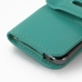 iPhone 5 5s Leather Holster Case (Aqua) protective carrying case by PDair