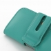 iPhone 5 5s Leather Holster Case (Aqua) handmade leather case by PDair