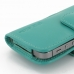 iPhone 5 5s Leather Holster Case (Aqua) genuine leather case by PDair